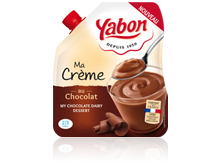Image - Chocolate dairy dessert in a flexible format